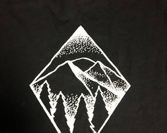 Mountain/Rose Shirt