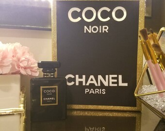 Coco Chanel Vanity Decor
