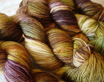 READY TO SHIP, Variegated,  ,Hand Dyed, Color -  Earthy