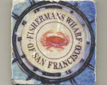 Fisherman's Wharf Original Coaster