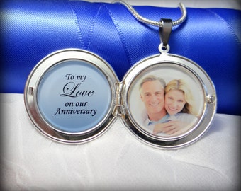 Anniversary Locket Necklace