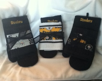 Steelers Towel and Oven Mitt - 1 Set