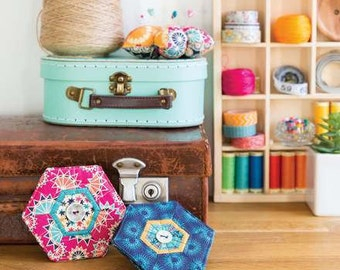 Mini Patchwork Hexi Needlecase Sewing Pattern Download 804089