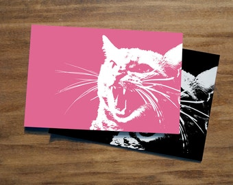 ANGRY CAT | Resistance Postcard