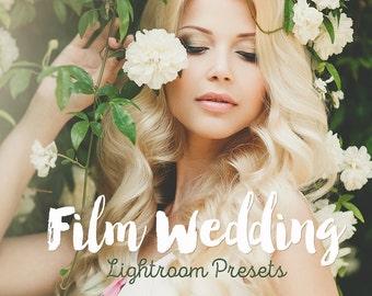 Film Wedding Lightroom Presets Wedding film presets for Lightroom 4-7 and Creative Cloud presets wedding Best Lightroom presets Lightroom cc