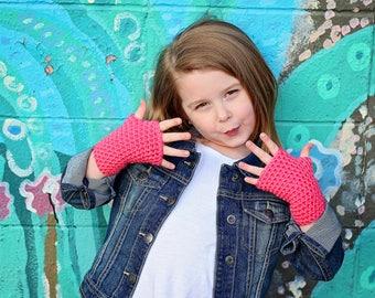 Children's Fingerless Gloves 3 pack - Children's Gloves - Kids Gloves - Toddler Gloves - Wrist Warmers - Stocking Stuffers