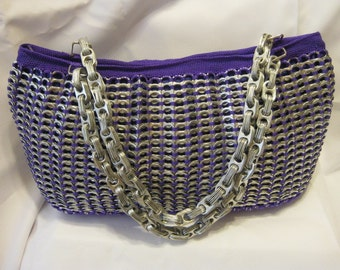 Recycled soda tabs Purse handmade with brand new materials handcrafted BEST OFFER unique