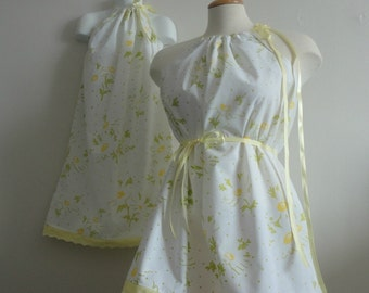 Mother Daughter Dresses. Mother Daughter Matching Dresses.Mommy - N - Me.Mommy & Me. Dresses.Yellow Rose Dresses.Easter Dresses.Mothers Day.