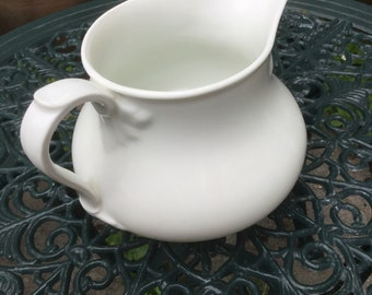 Vintage large  ceramic French Pitcher