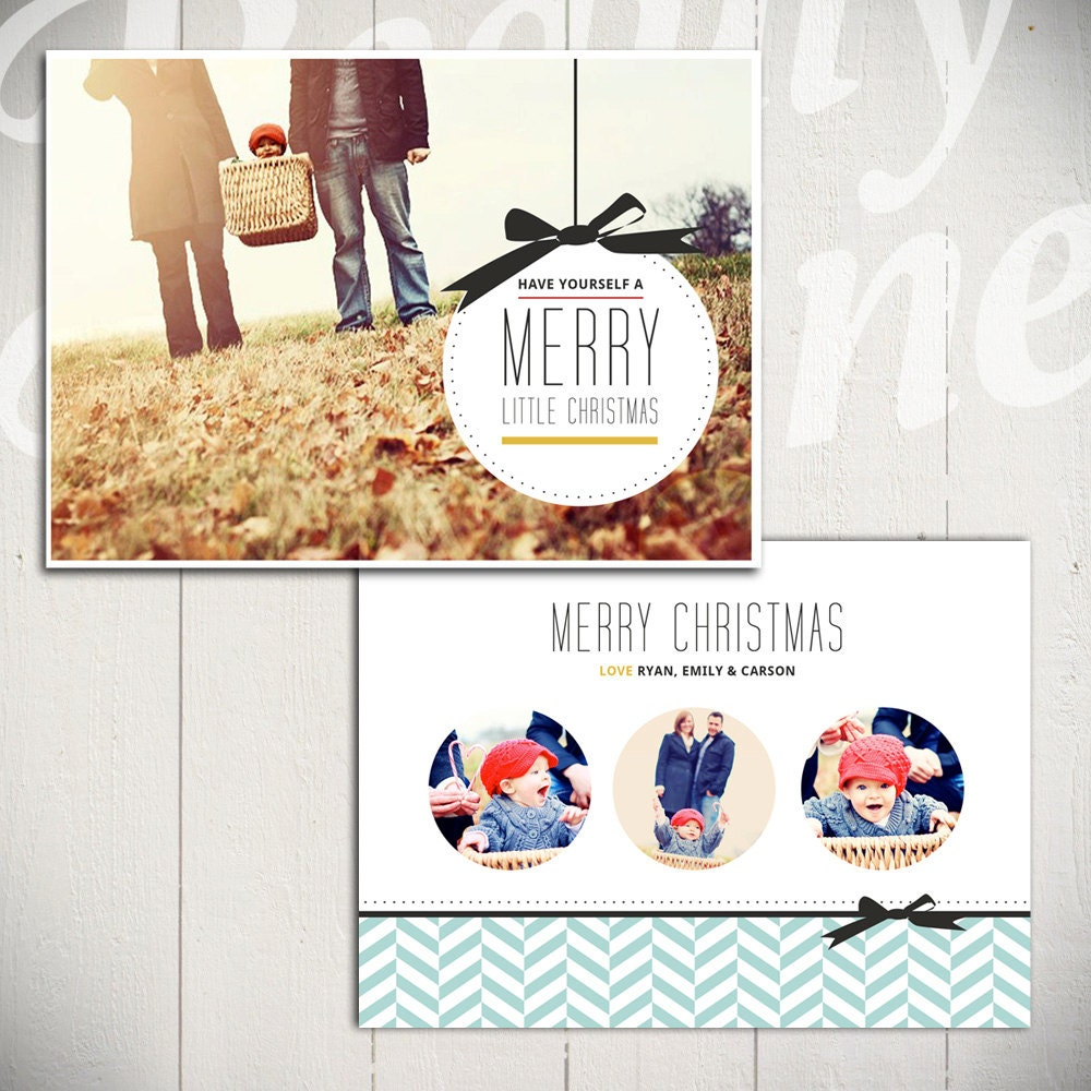 🔎zoom  Christmas Card Layout