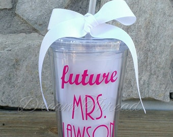 Future Mrs. Bride Tumbler (made to order)