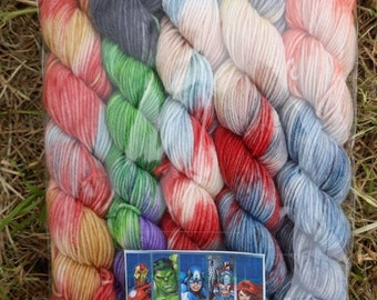 Marvel mini skeins