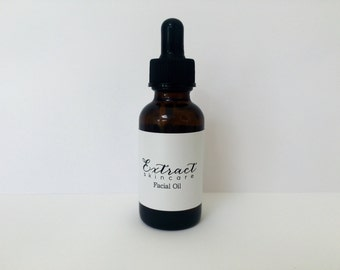 Organic Facial Oil (Pre-Made - Choose your skin type)