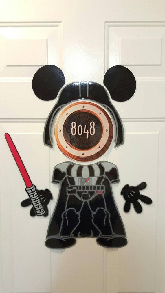 Darth Vader Jedi Empire Star Wars Mickey Disney Cruise Body