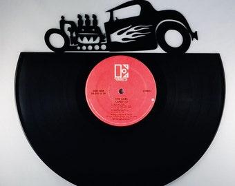 HOT ROD Vinyl Record Wall Art
