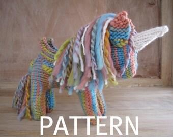 Pegasus Unicorn Knitting Pattern, PDF, Instant Digital Download