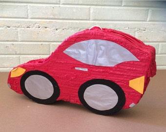 Red Car pinata