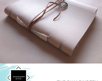 Handmade sketchbook for watercolour painting, sketching and calligraphy