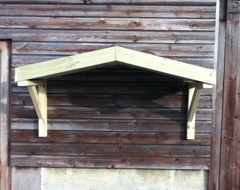 Slight Pitched Porch Canopy