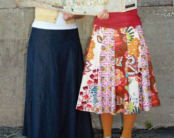 route 66 skirts pattern by marie-madeline studio (M076)