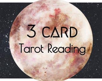 tarot reading, 3 card reading, tarot card reading