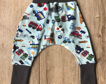 Pants sarrouel means transport pattern 3-9 months