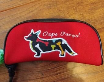 Cardigan Corgis Hundeknochen Poo Tasche Halter