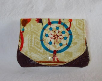 Little Wallet, Card Holder, ID holder, Cash Wallet, Business Card Holder, Gift Card Holder, Stocking Stuffer, Southwest Wallet