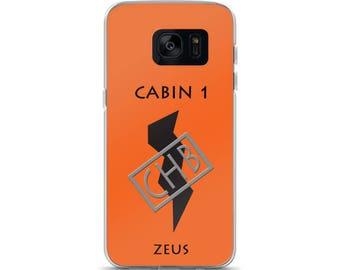 Camp Half-Blood Inspired Percy Jackson Cabin 1 Zeus Samsung Case