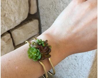 Succulent Garden Bracelet
