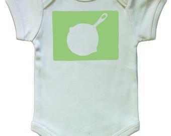 Skillet Organic Baby Onesie