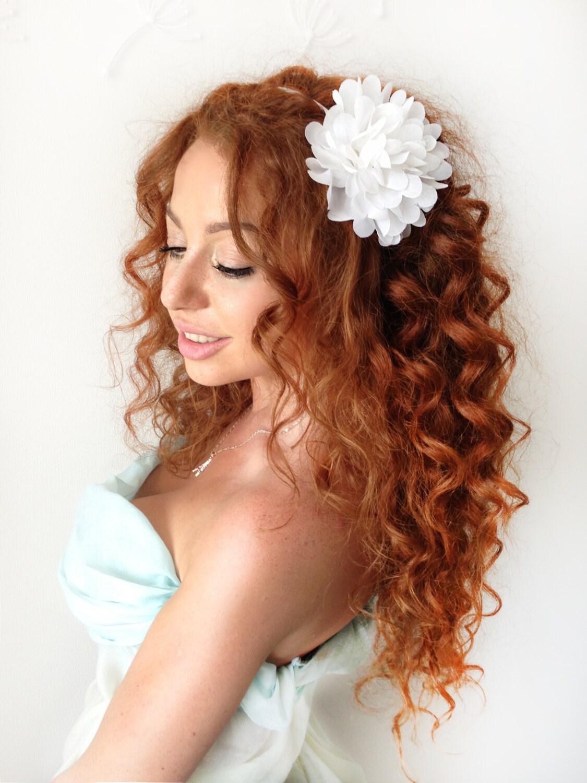 White Flower Crown Flower Headband Floral Headband Floral