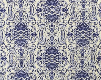 CZ011 - 108cmx100cm  Cotton Fabric - Mosaic Traditions, Traditional Scroll