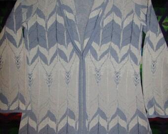Pendleton ~ Sweater ~ Linen/ Cotton ~ Mint ~ Recycled ~ Vintage ~ Women's ~ Size S