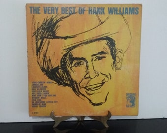 First Pressing - Hank Williams - The Very Best Of Hank Williams - Circa 1963