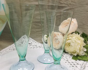 CARLO MORETTI-Glassware Set service X 6 (or 12) hand-blown MURANO glass