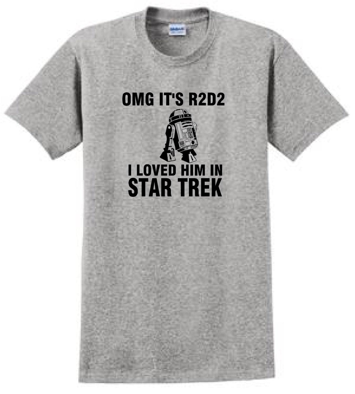 Omg its r2d2 i loved him in star trek funny t shirt zoom buycottarizona