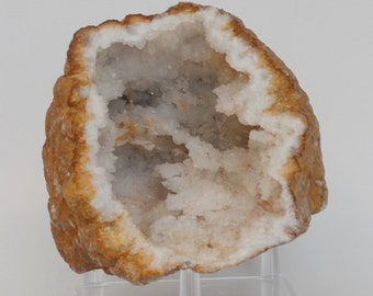 Large Calcite Crystal Geode from Morocco