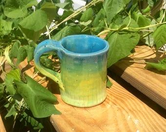 Hand Built Coffee Mug