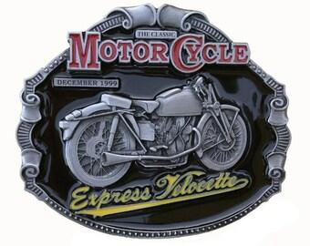 Officially Licensed Belt Buckle Express Velocette DDMR2024