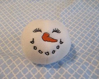Fleece Snowball / White Snowball / Plush Snowball
