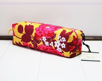 Travel Toothbrush Pouch - Makeup Brush Pouch - Box Toiletry Bag - Makeup Storage - Knitting Notions - Boxy Pouch - Joel Dewberry