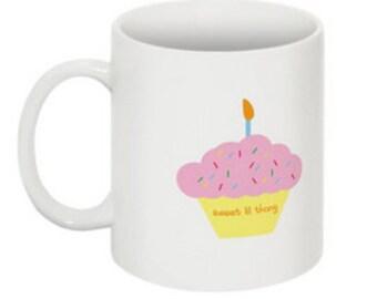 Sweet Lil Thang mug (with cupcake)