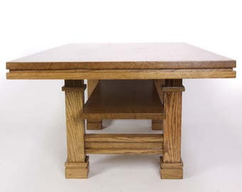 Brassfield Original Mission Style Coffee Table - FREE SHIPPING