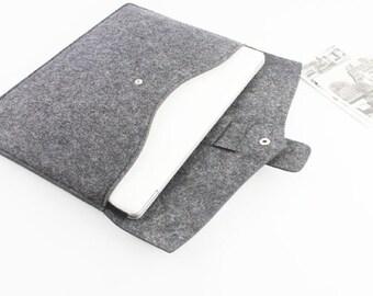Felt 12 inch Macbook sleeve, Macbook case 12, 2017 New Macbook sleeve 12, macbook case, laptop sleeve, laptop case Christmas Gift 071