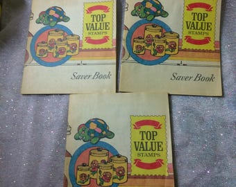 Top Value Stamp Books and Stamps