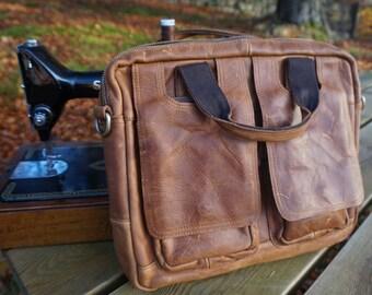 Super SALE Messenger leather distressed bag, Shoulder genuine leather bag, crazy horse genuine leather