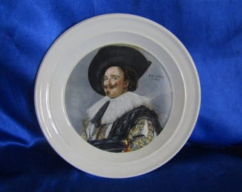 "Portmeirion Collectors Plate ""The Laughing Cavalier""  Made in England"