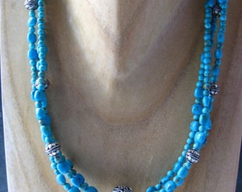Hand-crafted Turquoise Necklace