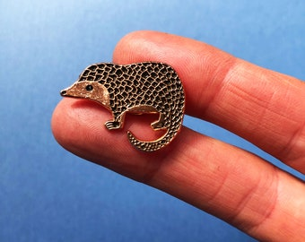 Pangolin Pin, designed by Jess Racklyeft *Limited Edition* *Fundraiser*